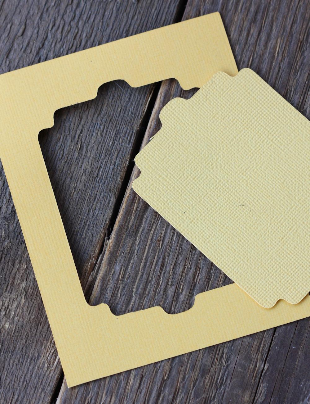 Cricut - Monogram Plaque - Step 1