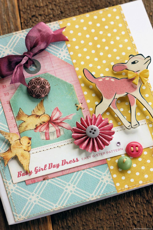 Little Bo Peep - Baby Girl Card