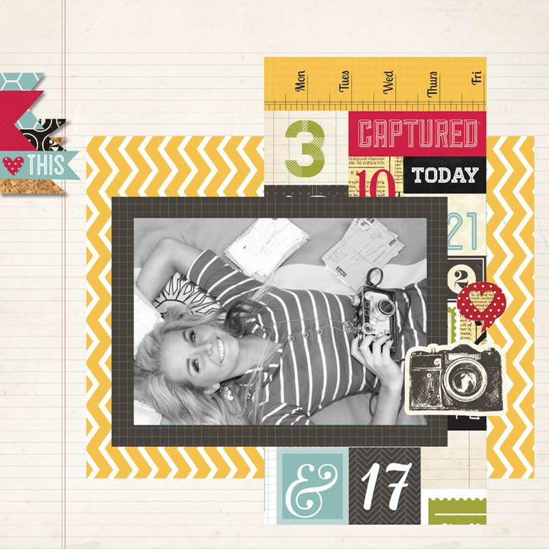 Simple Stories - 24/Seven Layout