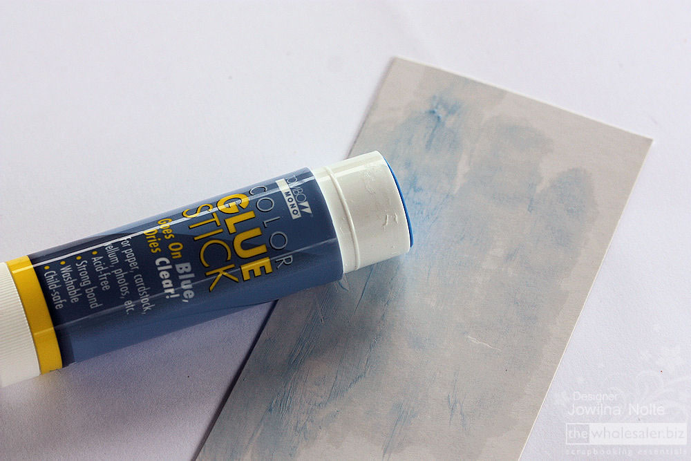 Tombow Colour Glue Stick Step 1