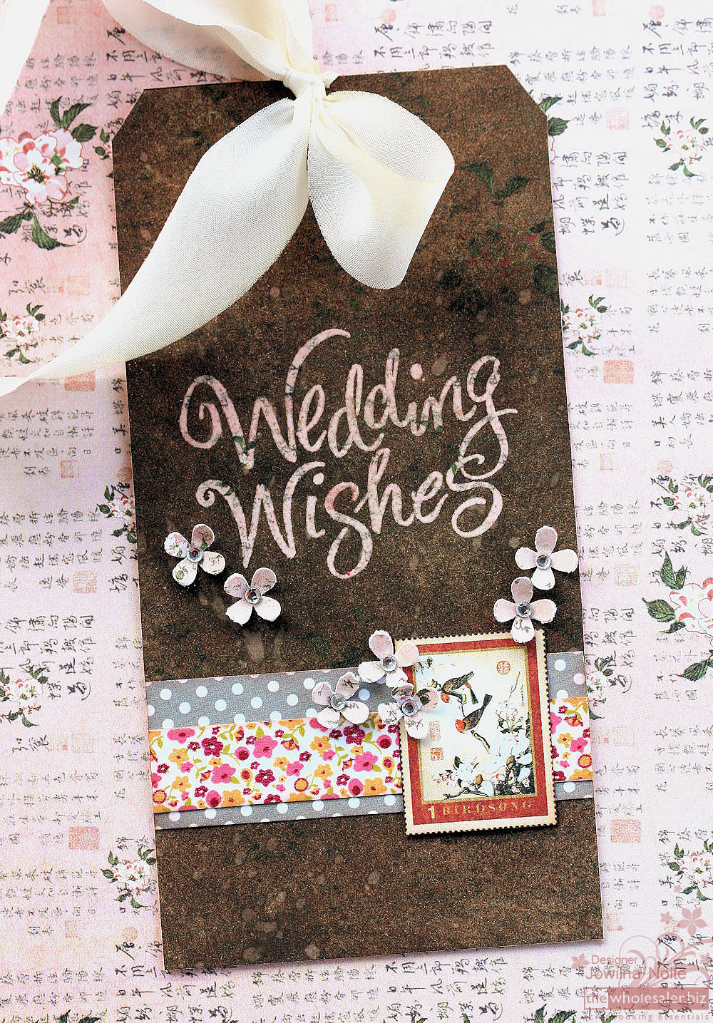 Birdsong - Tag Altered Paper