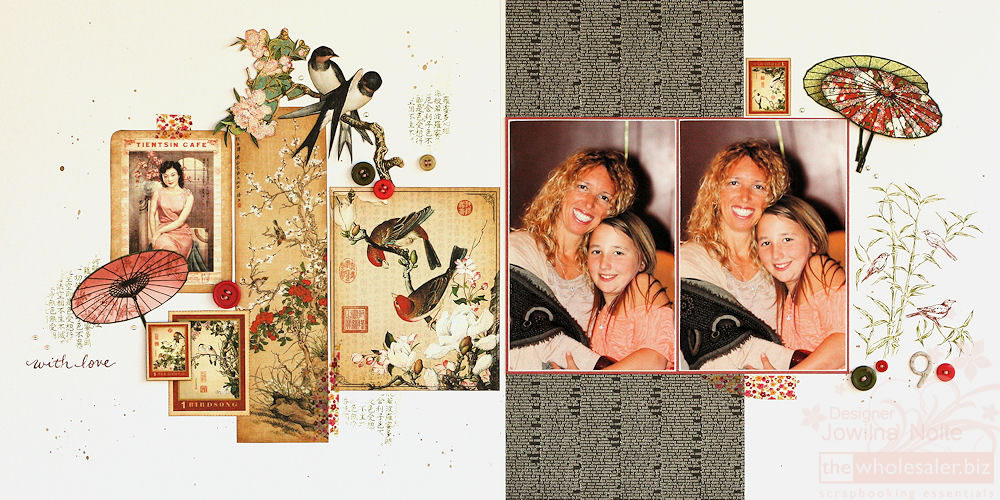 Birdsong - With Love Layout