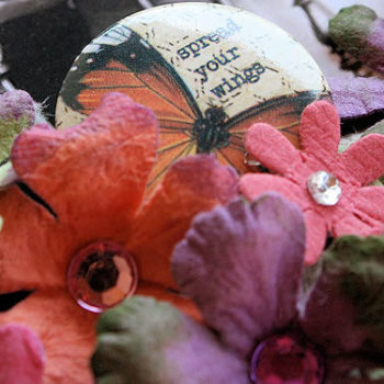 Jeweled Gypsies Notebook Flowers