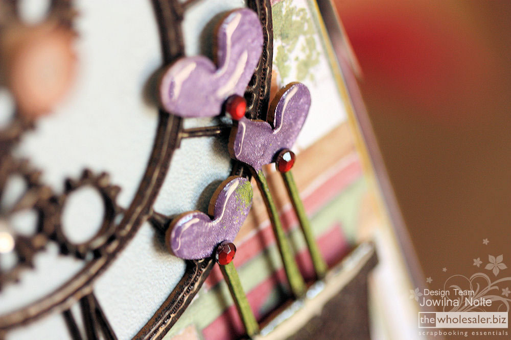 Layered Chipies Chipboard Accents