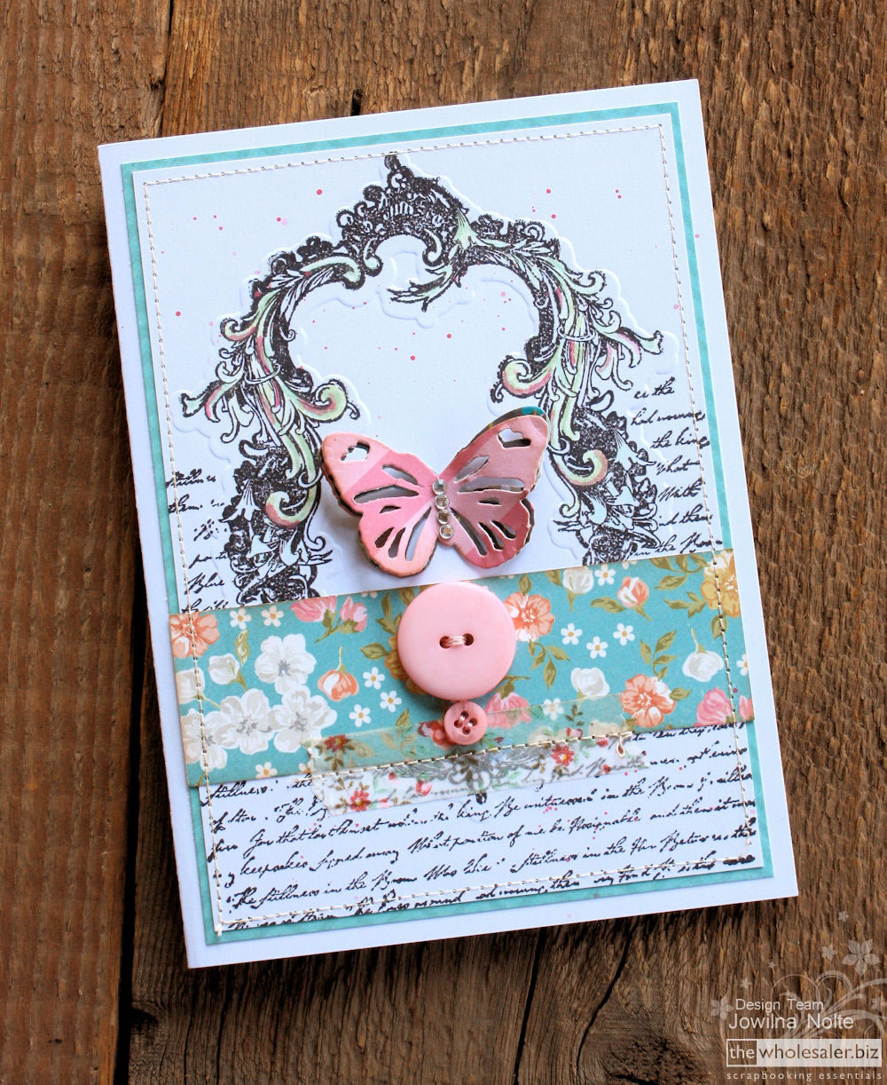Couture Creations - 3-in-1 - Butterfly Card