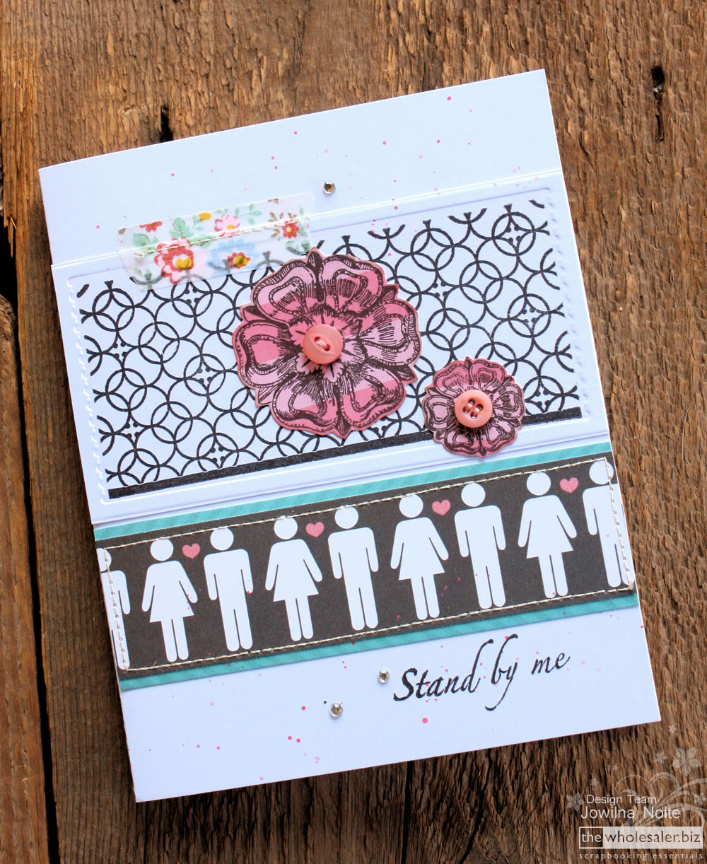 Couture Creations - 3-in-1 - Stand by Me Card