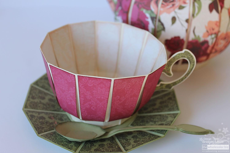 Kaisercraft Lady Rose Tea Cup