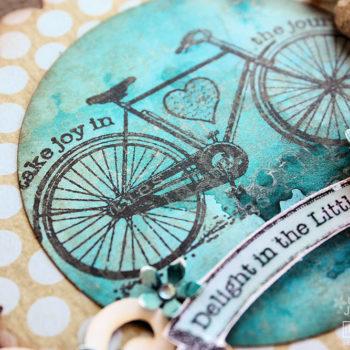 Prima Embellishments Gift Tin Stamping