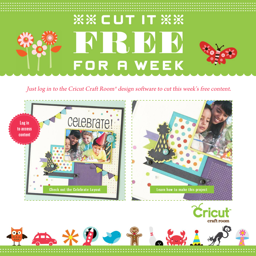 Cricut Craft Room Free Files