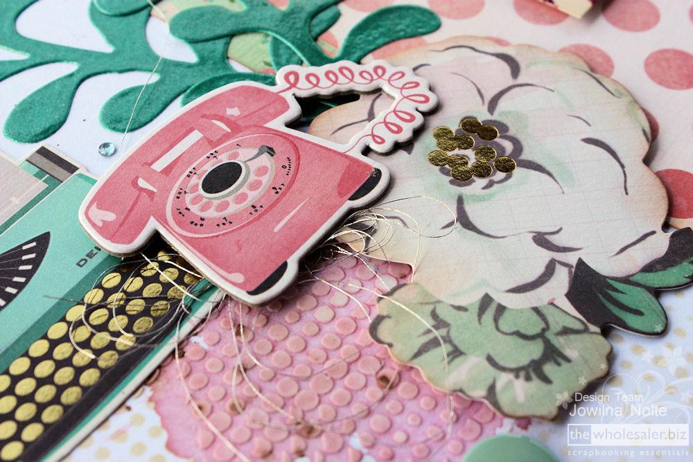 Secret Treasures Cutting Dies - Chipboard Element