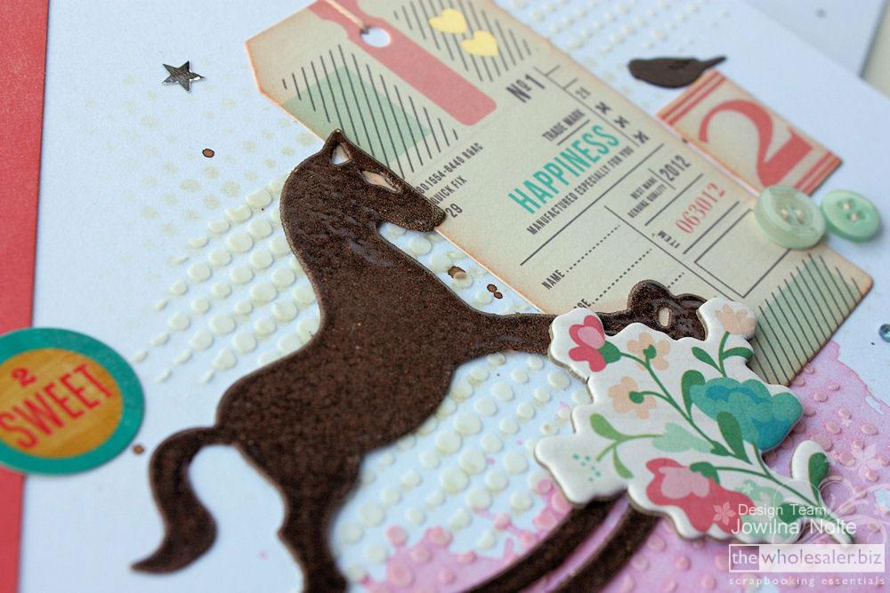 Secret Treasures Cutting Dies - Die Cut Horse