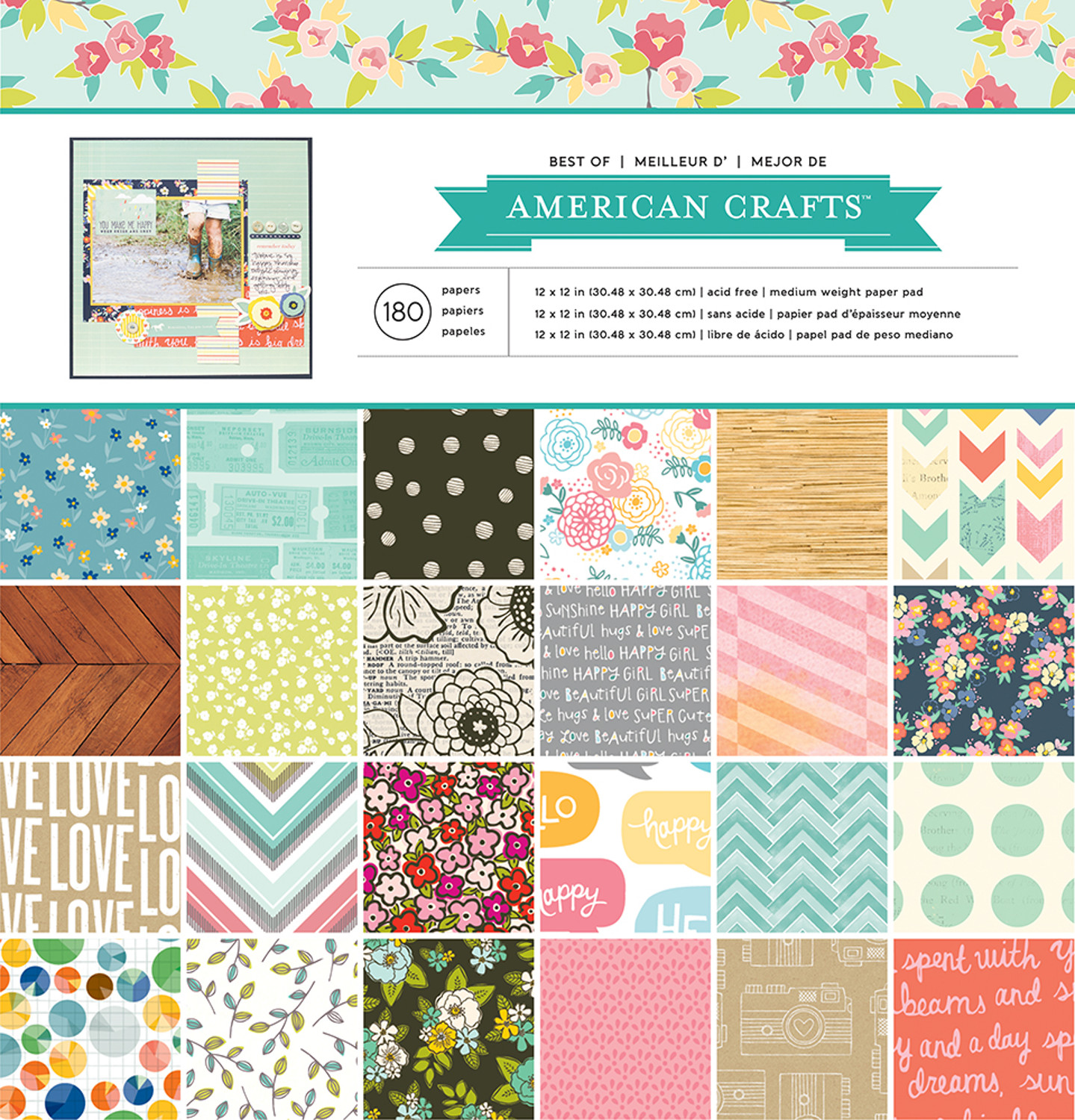 American Crafts Thickers Album