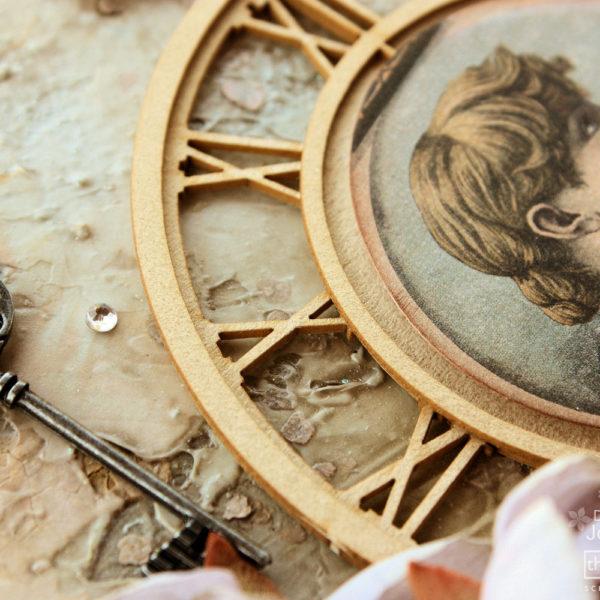 Mixed Media Art Mediums Canvas Embellisment