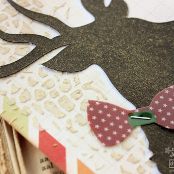 Mixed Media Project Life - Card 1 Detail