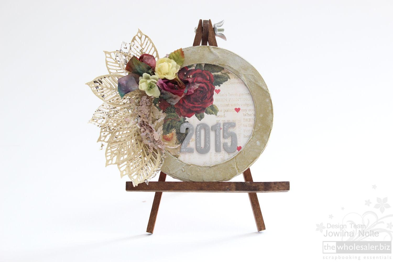 Prima Art Mediums 2015 - New Year Wreath