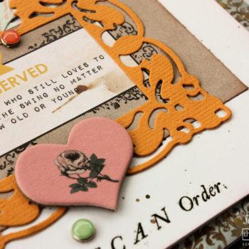 Layered Die Cuts Card Tutorial - Heart