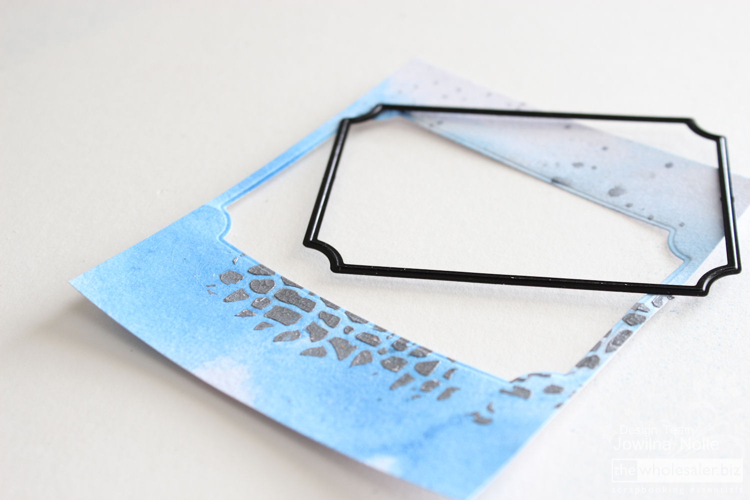 Mixed Media Card Tutorial - Step 3
