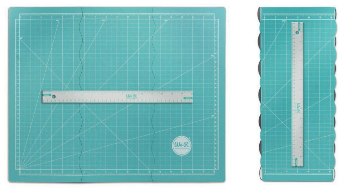 We R Memory Keepers - Tri Fold Magnetic Mat AC71350-0