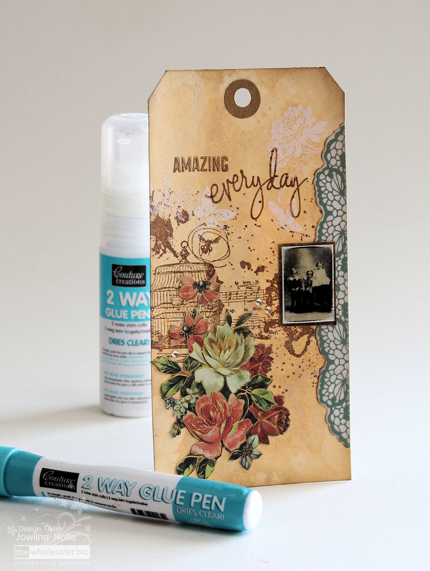 Couture Creations 2 Way Glue - Tutorial