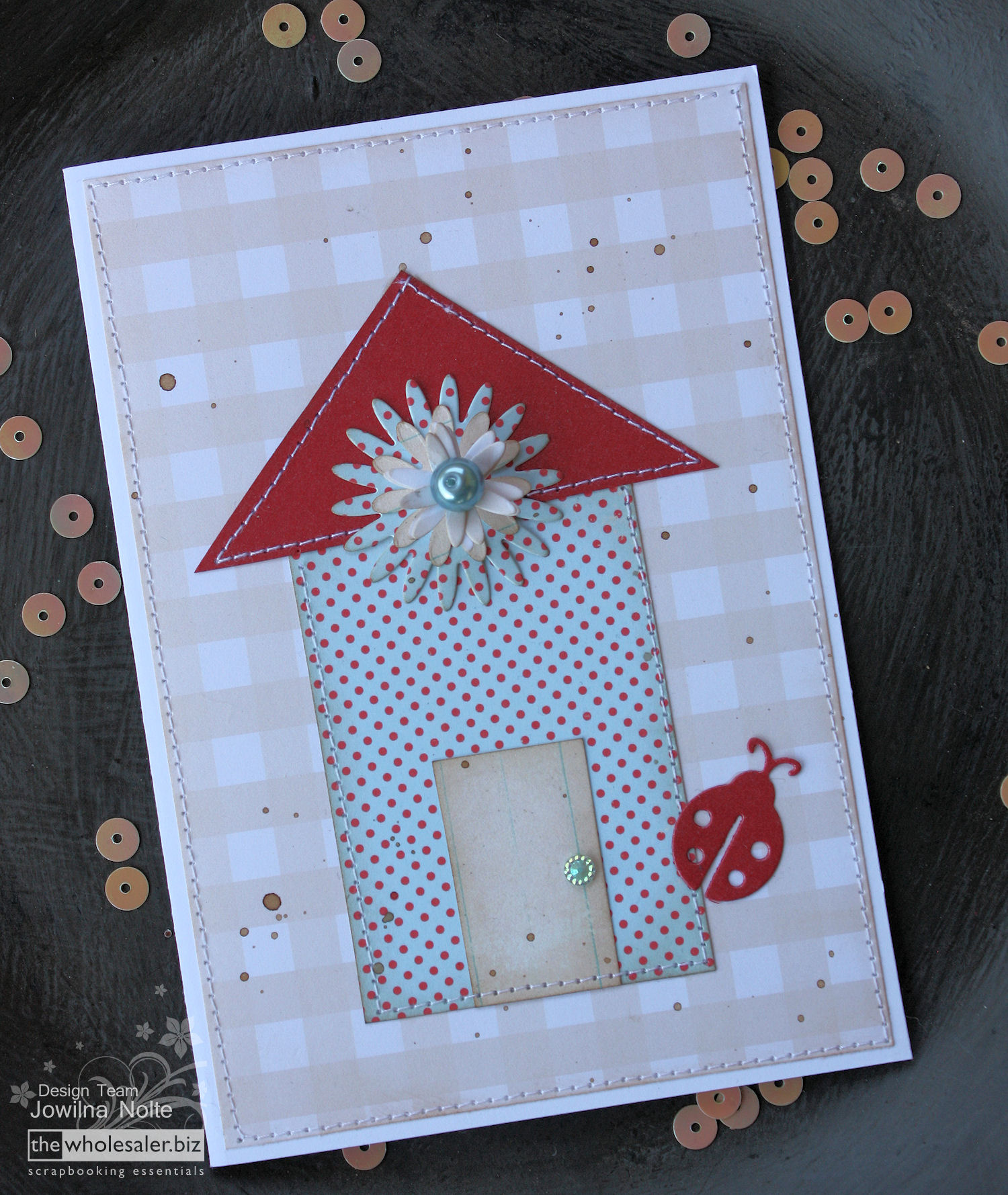 Couture Creations Everyday Essentials - Home Sweet Home-Card