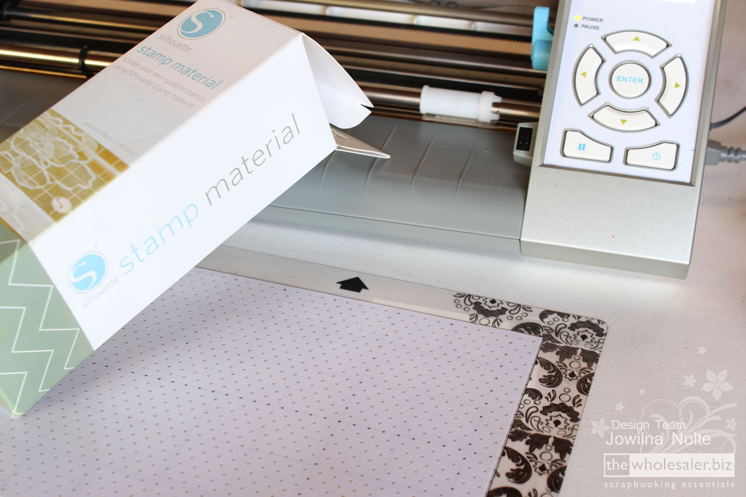 Silhouette Stamp Material - Step 1
