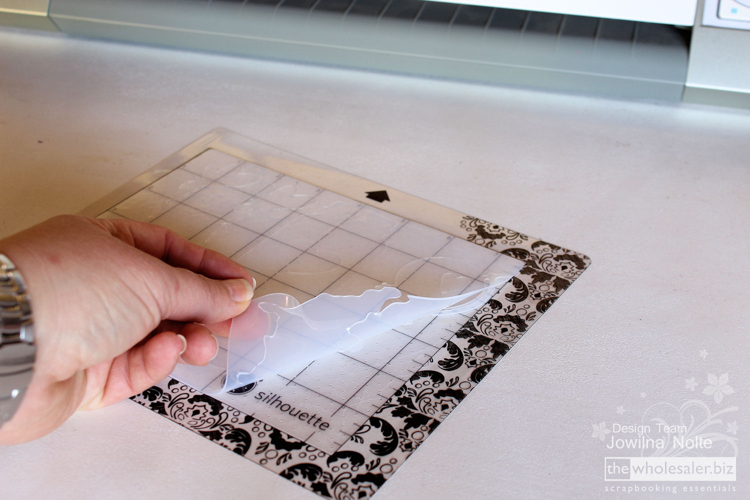 Silhouette Stamp Material - Step 12