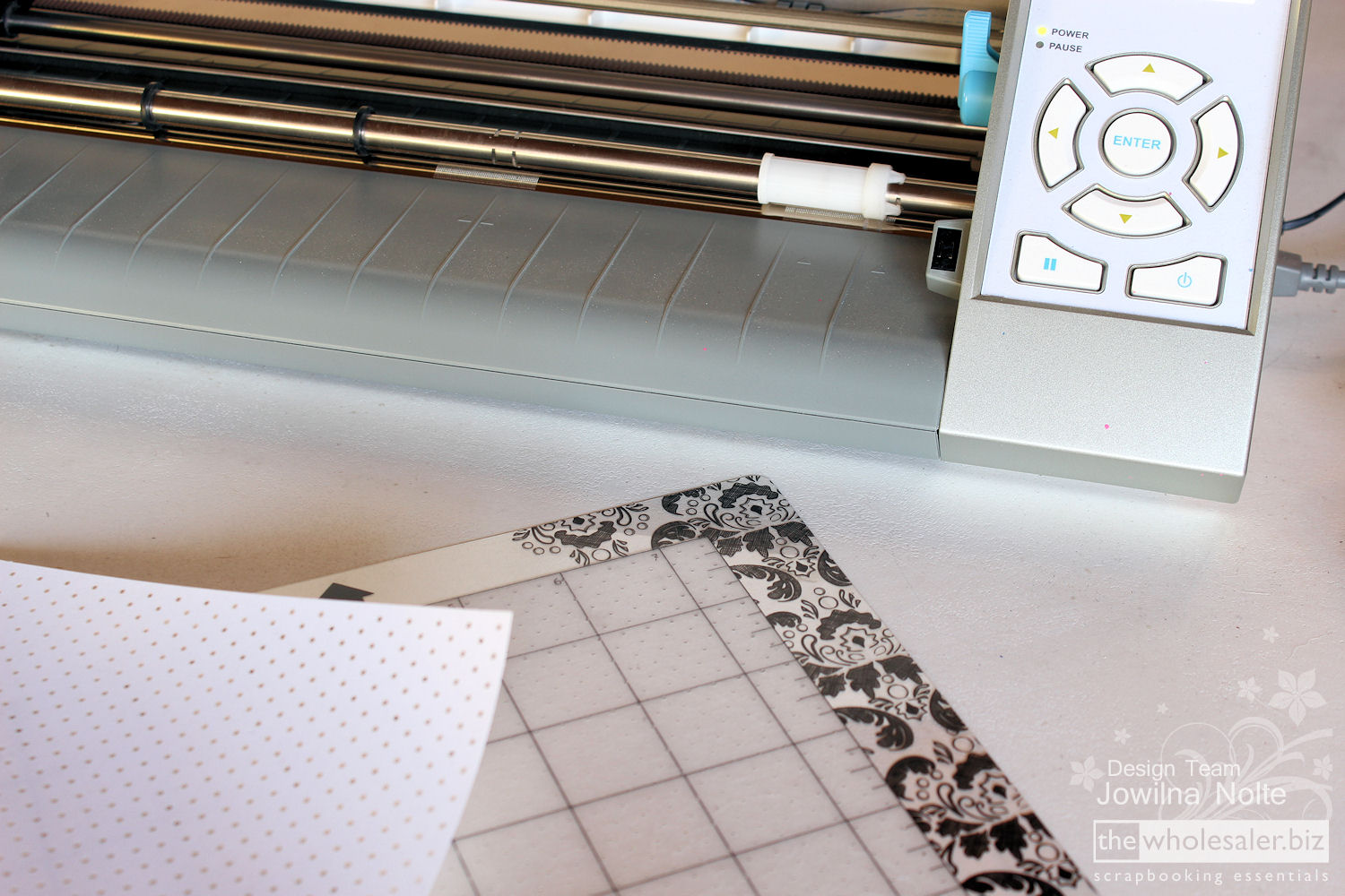 Silhouette Stamp Material - Step 2