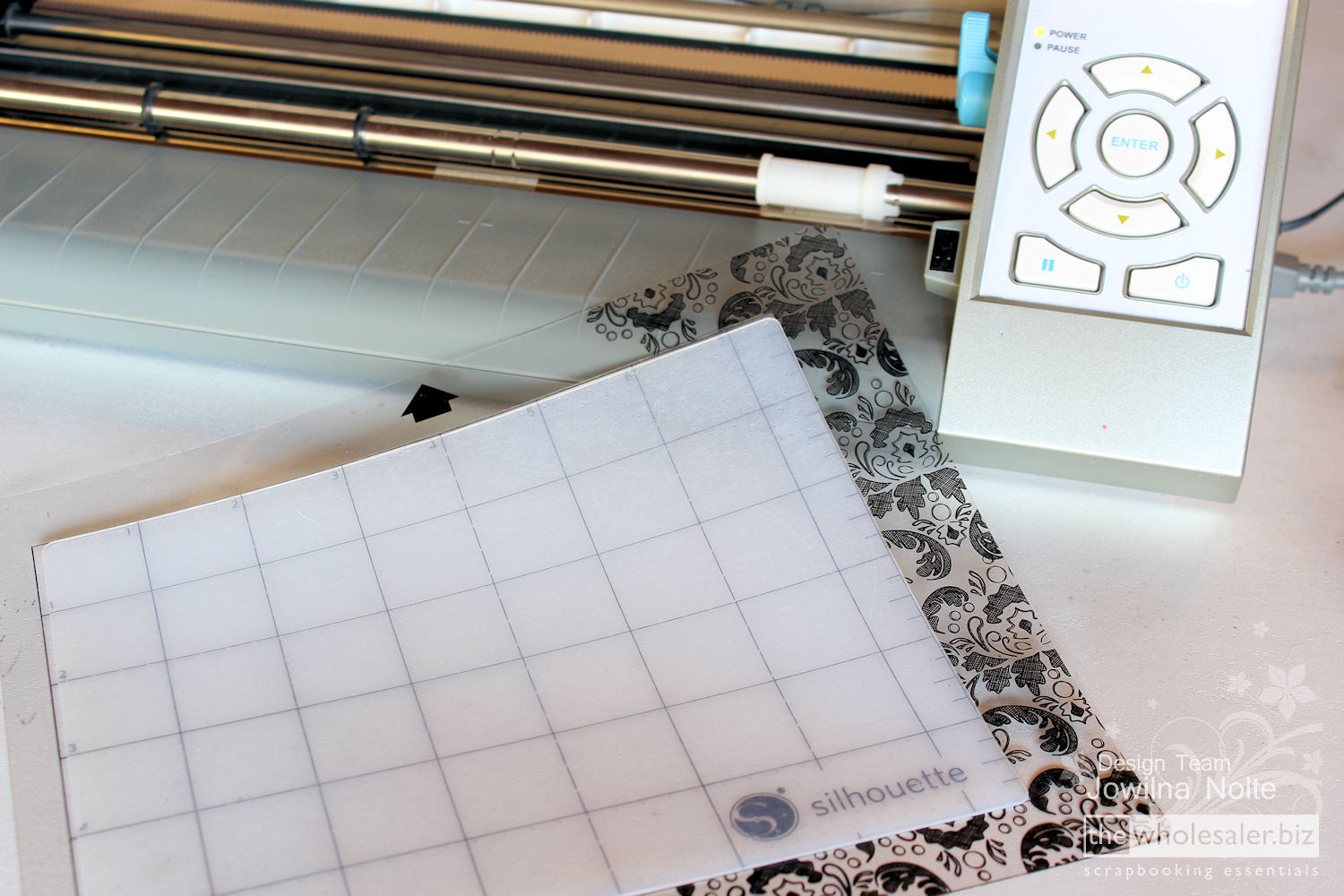 Silhouette Stamp Material - Step 3