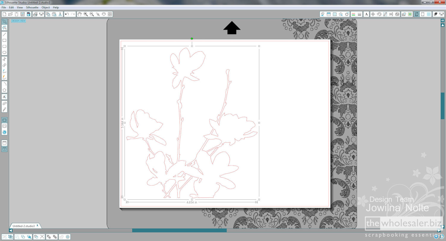 Silhouette Stamp Material - Step 8