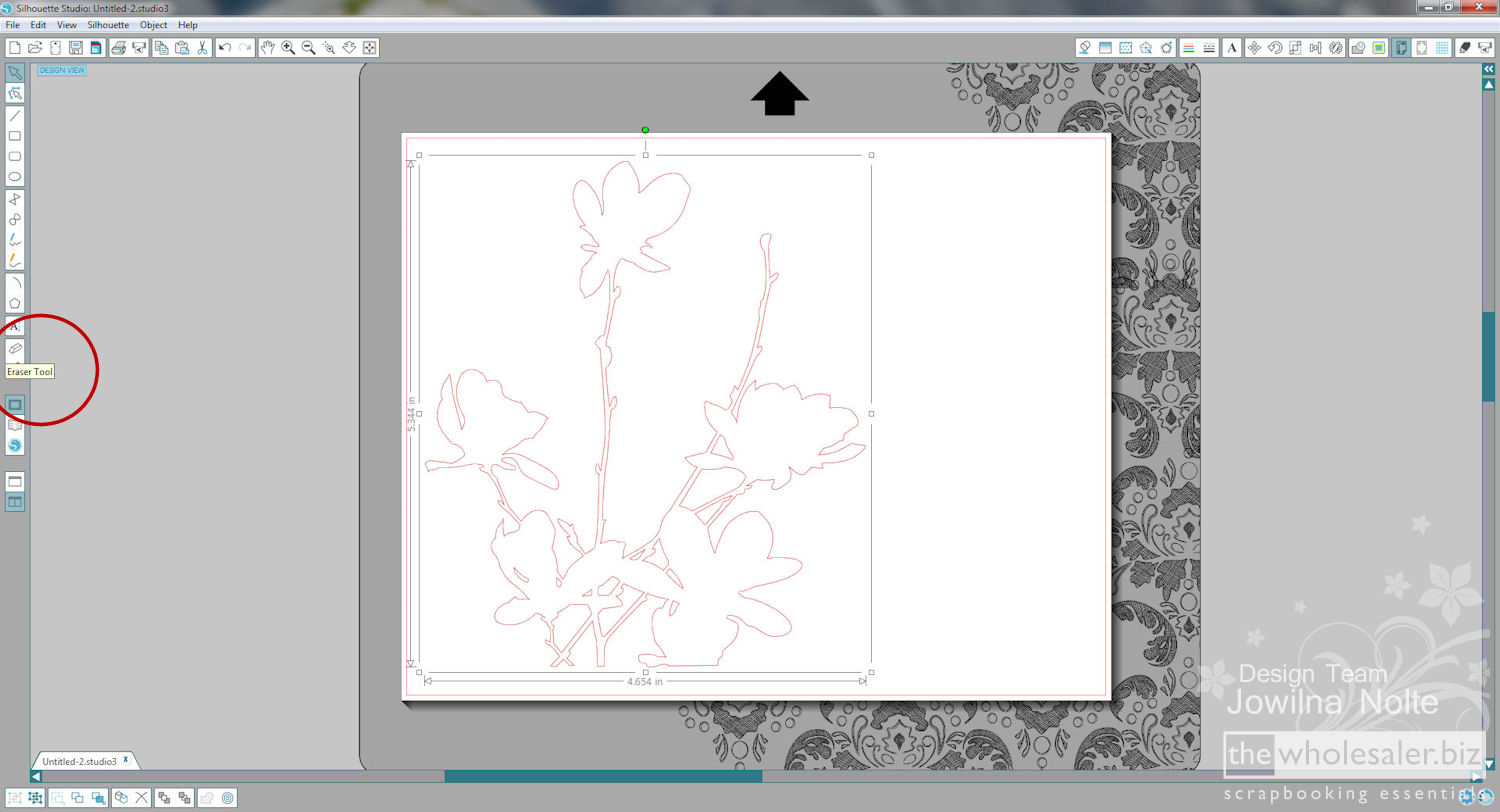 Silhouette Stamp Material - Step 9