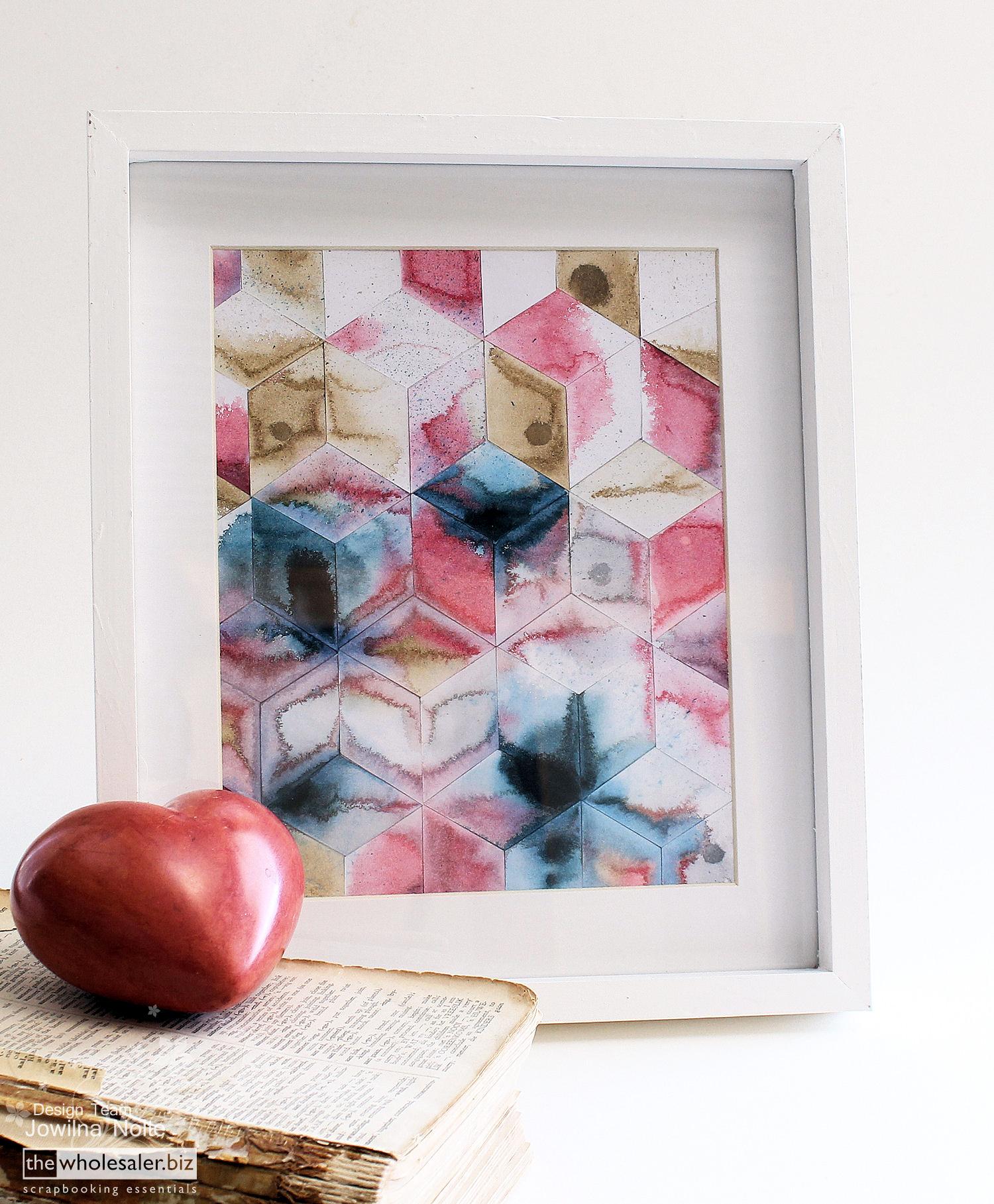 Design Diy Modern Art diy modern art using the silhouette corner heart