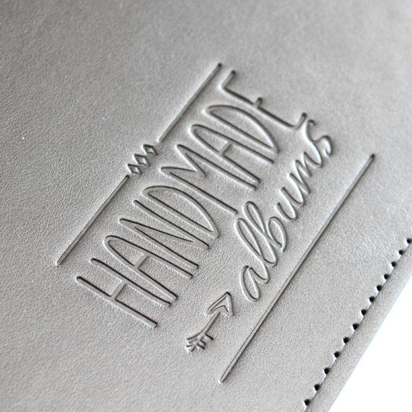 HANDMADE Albums Debossed Logo