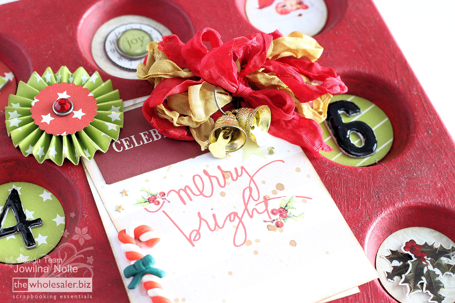 Christmas Preparations With Tape Wormz - Merry & Bright