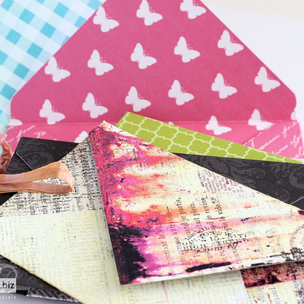 Envelope Punch Board - Patterned Envelopes