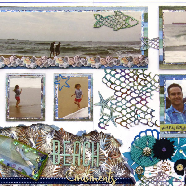 Celebr8 - Sea Treasures Layout