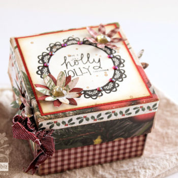 Christmas Exploding Gift Box - Tutorial