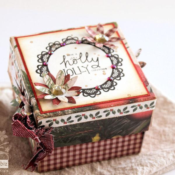 Christmas Exploding Gift Box - Tutorial