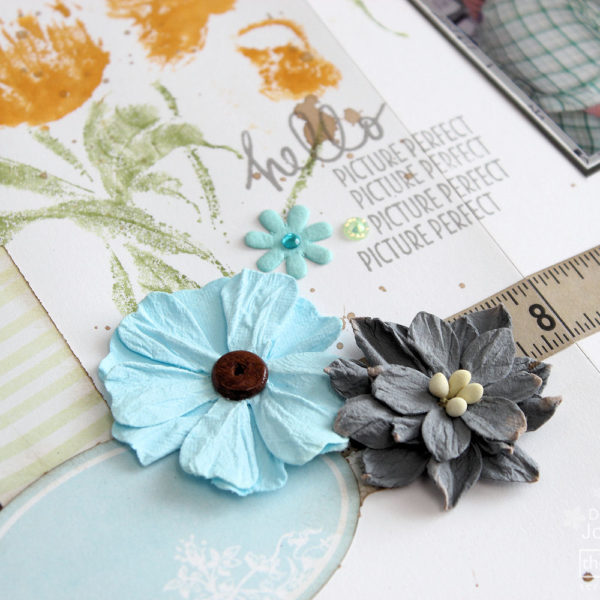Little Birdie Floral Inspiration - Hello