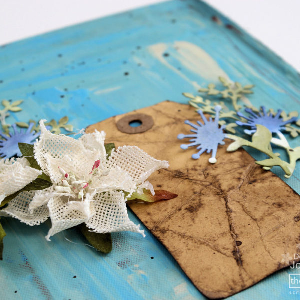 Couture Creations Altered Book Cover - Step 6