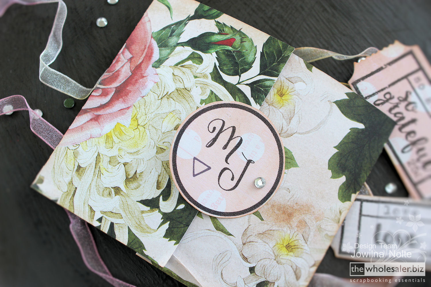 DIY Wedding Part One - Die Cut Card