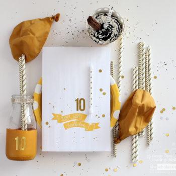 Golden Birthday Celebrations - Setting Layout
