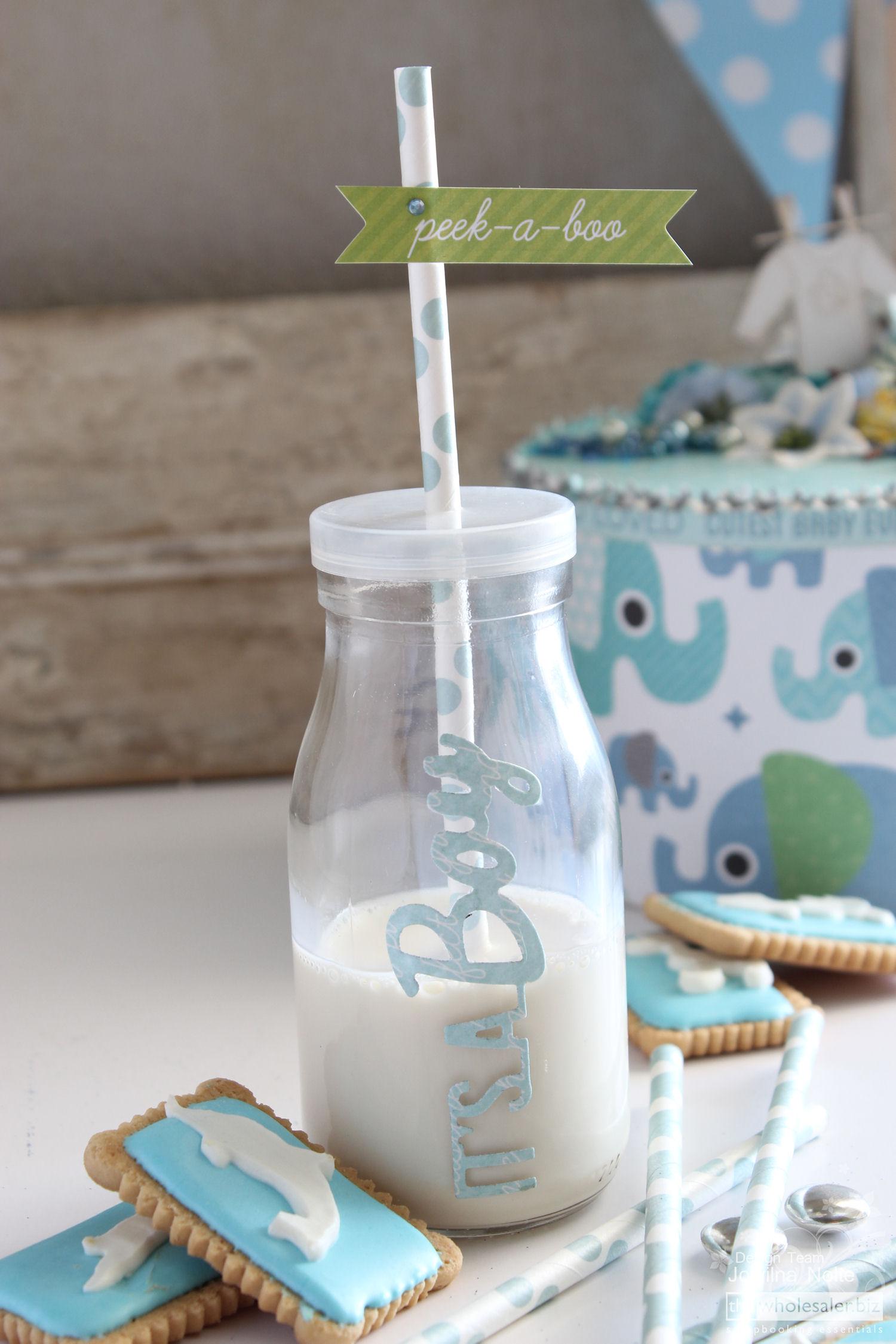 DIY Baby Boy Shower A Celebration - Straw