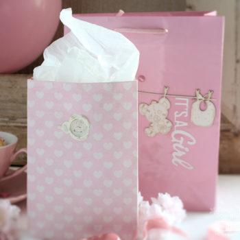 DIY Baby Shower Ideas - giftbags 2