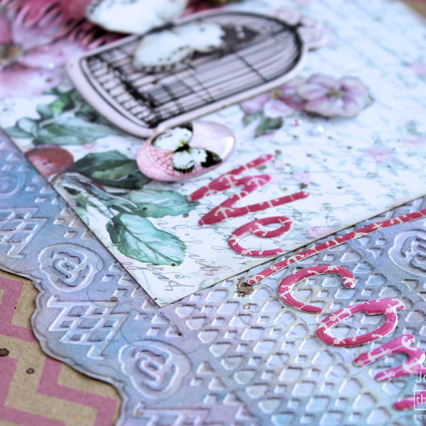 GoCut and Emboss - Project - Bunting