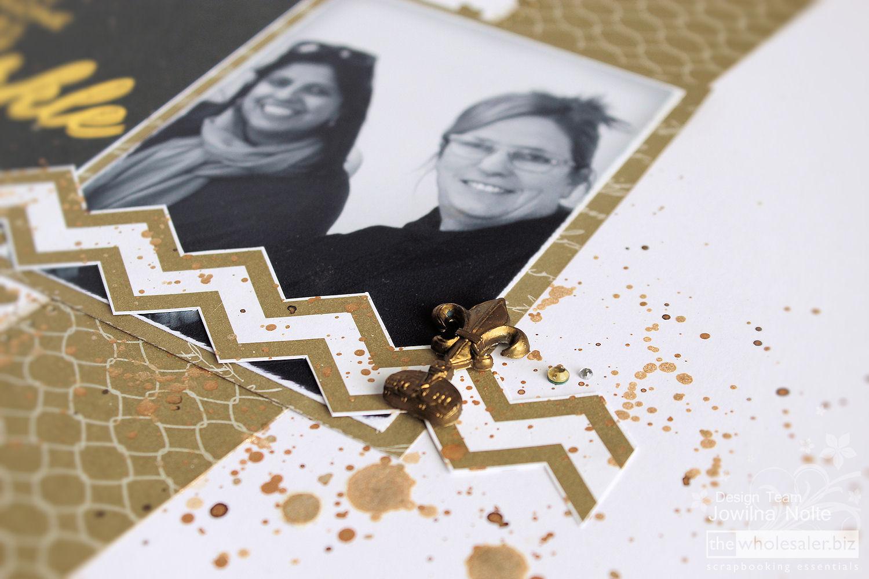 Celebrating Women - Egyptian Gold Golden Splatters