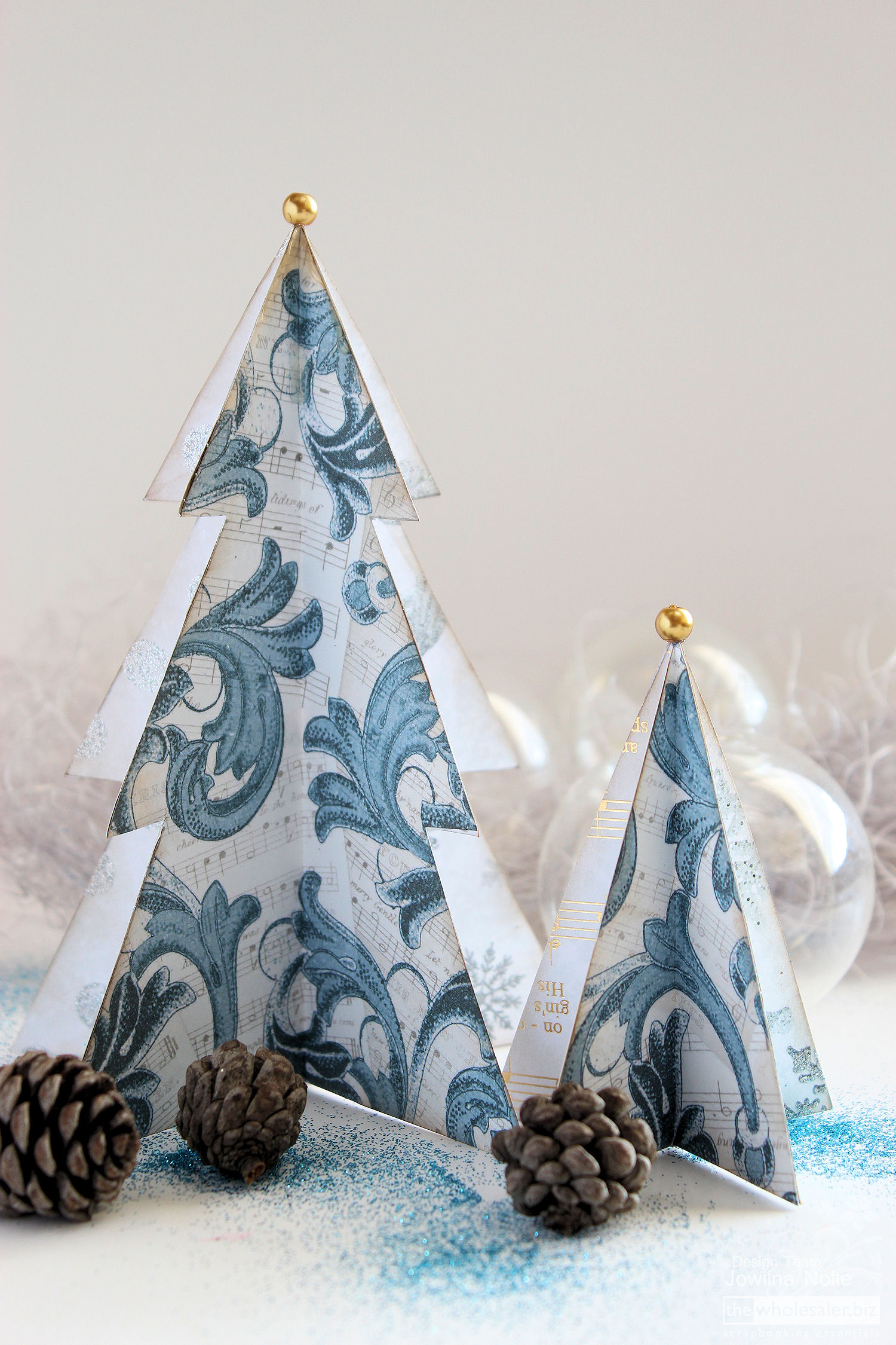 Festive Greeting Cards - Christmas Trees