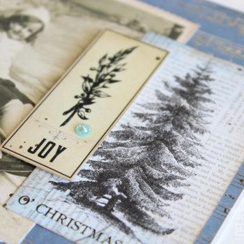 Festive Greeting Cards - Vintage Detail