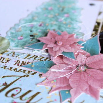 Festive Layout Pastels