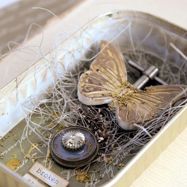 Celebrating Golden Women - Butterfly