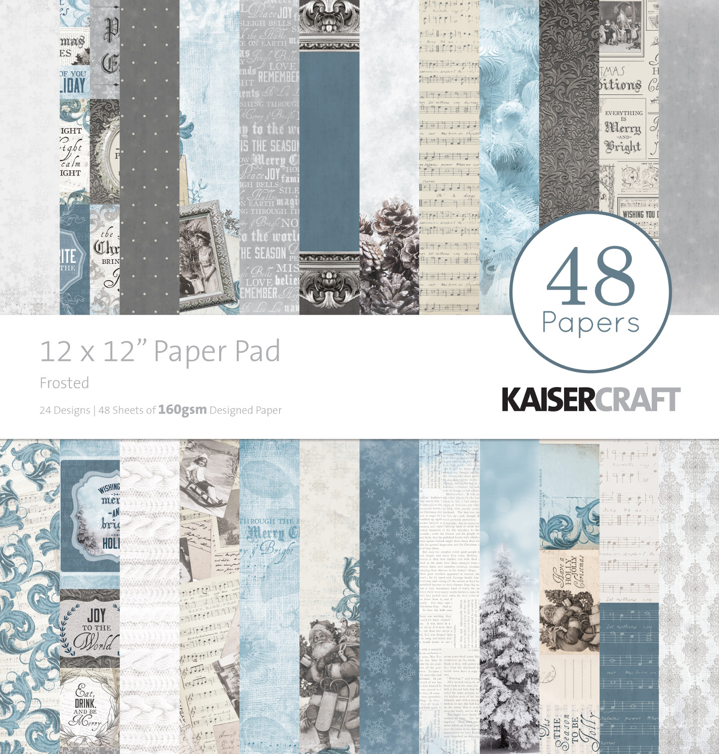 Kaisercraft Frosted And Silent Night